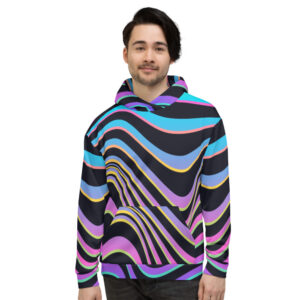 Colour Wave Hoodie