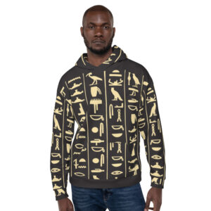 Signs of Egypt Gods Hoodie