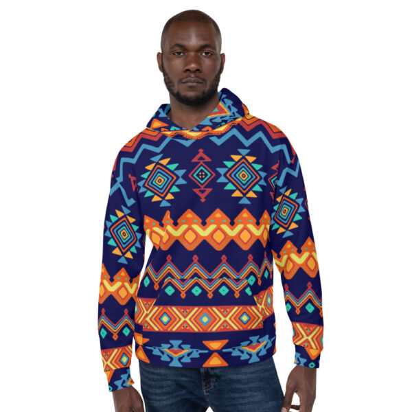 Abstract Indian Hoodie
