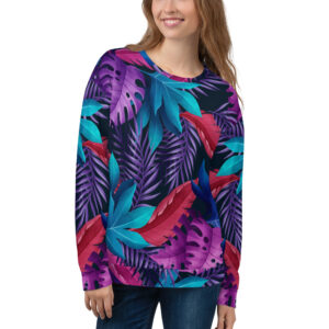 Tropical Leaves Sweatshirt