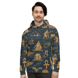 Signs of Egypt Hoodie