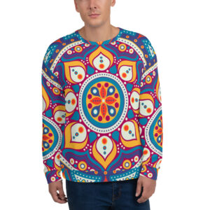 Abstract Mandala Sweatshirt